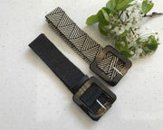 Kiik Luxe Square Tortoise belts