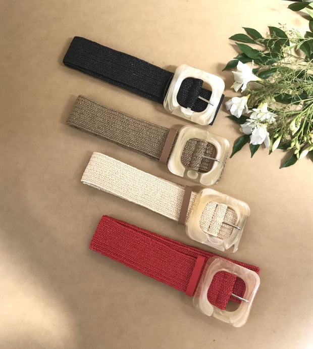 Kiik Luxe Square Woven Belts