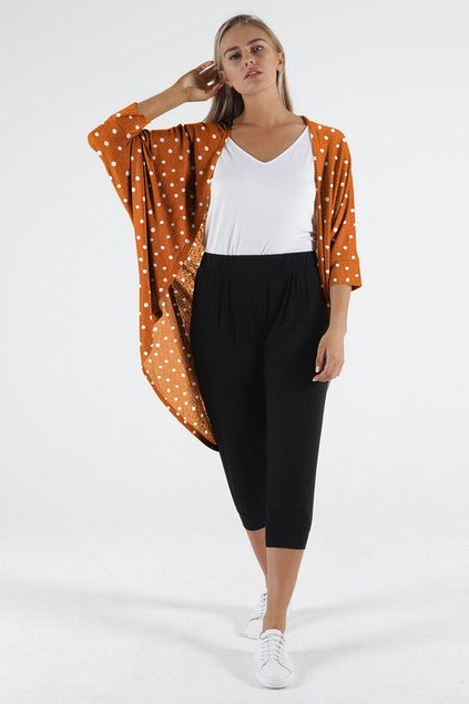 Santorini Drape Cardigan - Betty Basics
