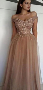 MARA floral tulle prom dress