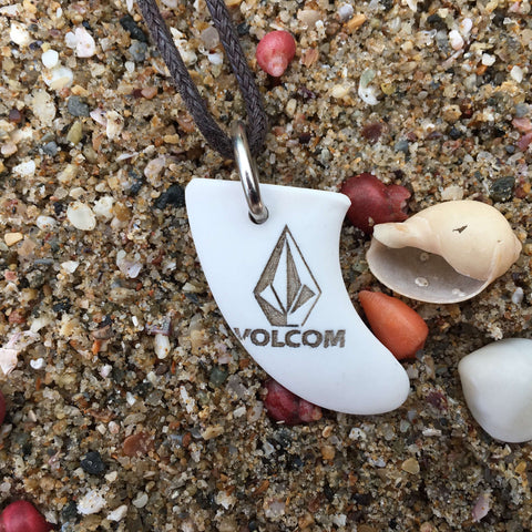 Volcom Miniature Surfboard Fin Necklace