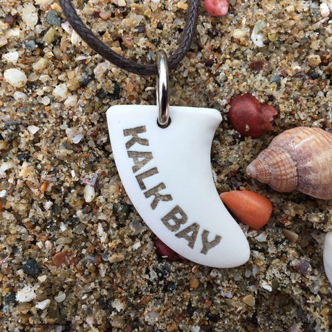 Kalk Bay Miniature Surfboard Fin Necklace