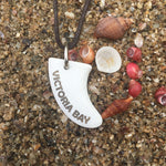 Victoria Bay Miniature Surfboard Fin Necklace
