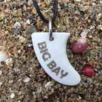 Big Bay Miniature Surfboard Fin Necklace