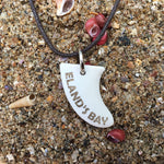 Eland's Bay Miniature Surfboard Fin Necklace