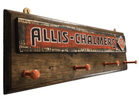 Allis-Chalmers Tractor Coat Rack