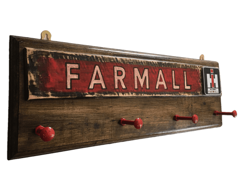 Farmall Tractor Coat Rack