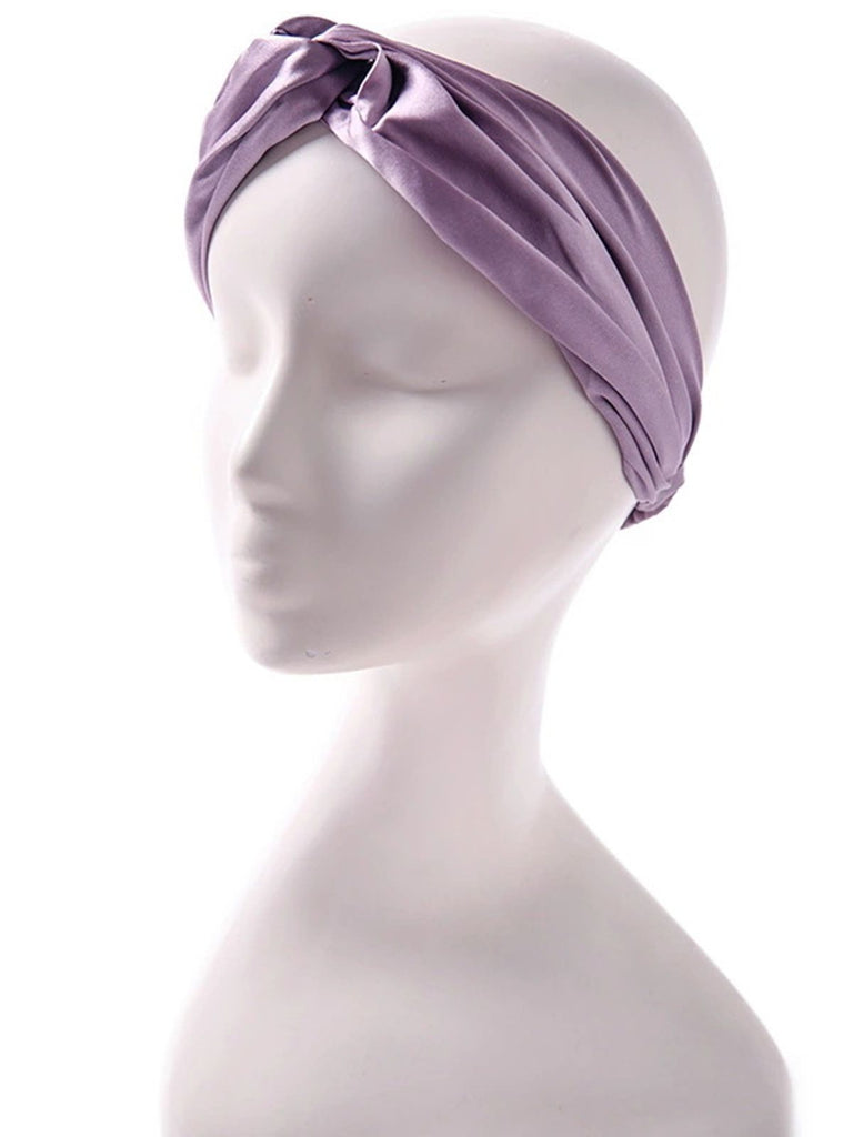 Vintage Silk Turban Headband
