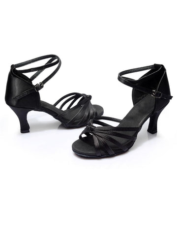 Black 1920s Gatsby Shoes