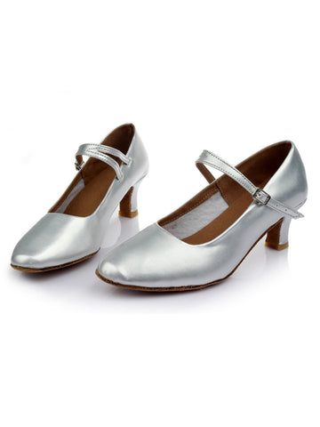Silver 1920s Gatsby Shoes