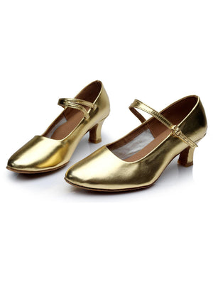 Gold 1920s Gatsby Shoes