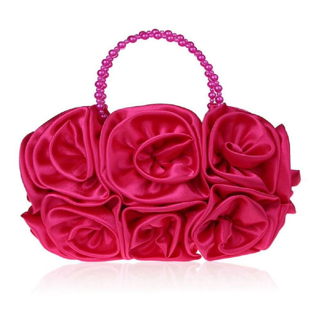 Retro Rose Floral Handbag