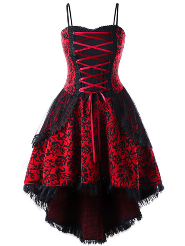 Gothic Lace Steampunk Dress
