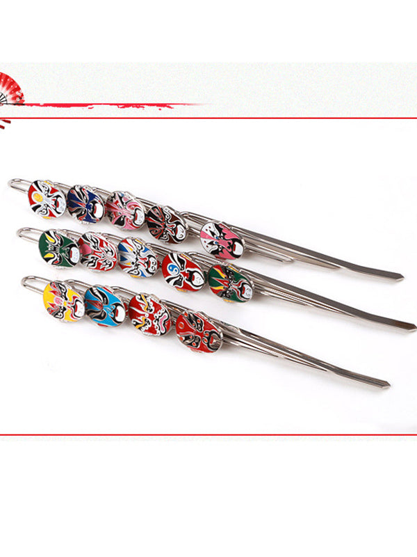 Chinese Style Peking Opera Vintage Bookmark