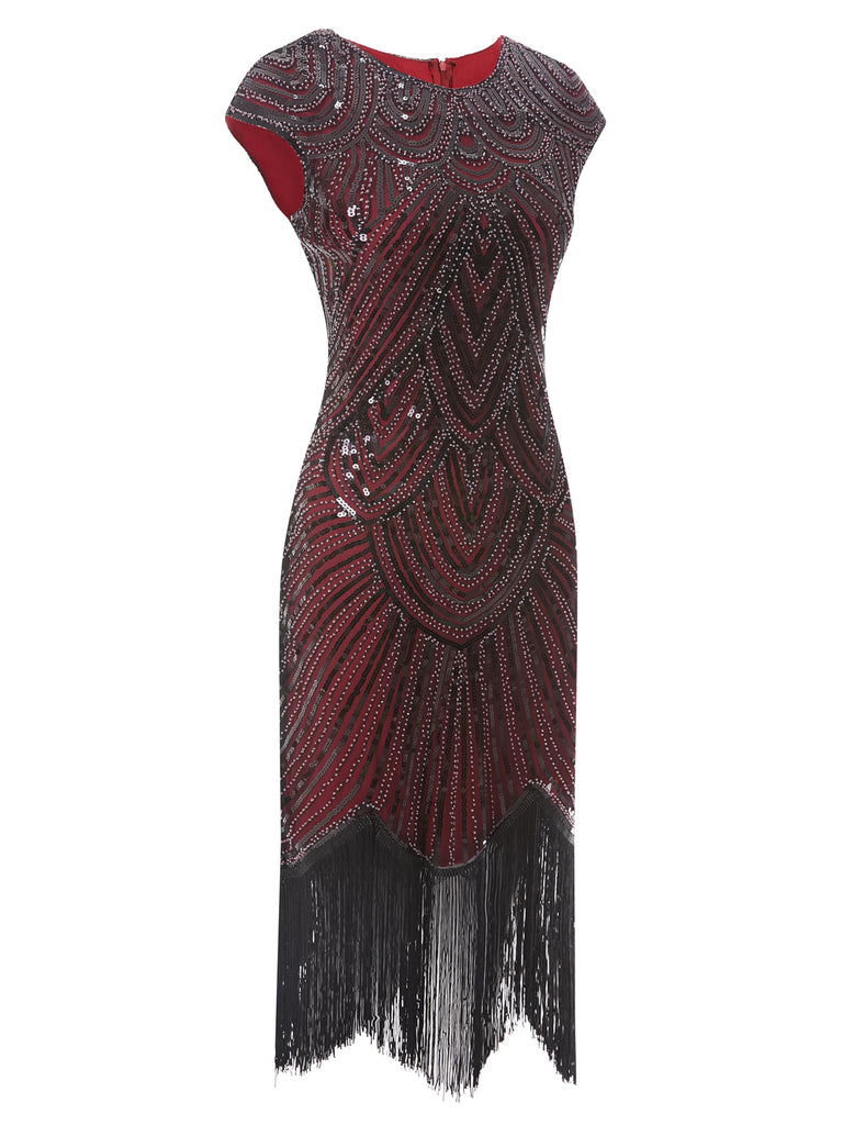 1920s Fringe Flapper Dress