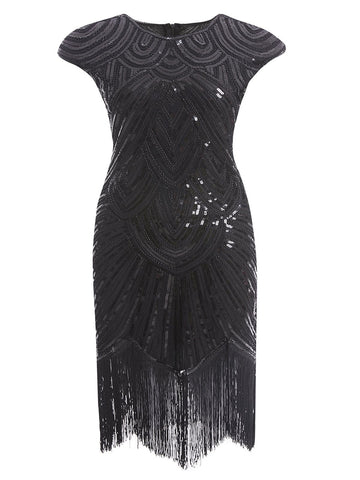 Plus Size 1920s Sequin Dress