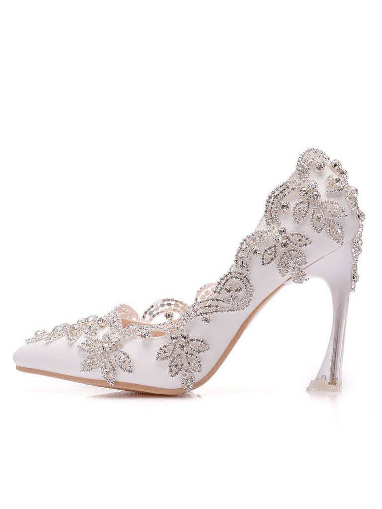 Ultra-high Heel Wedding Shoes