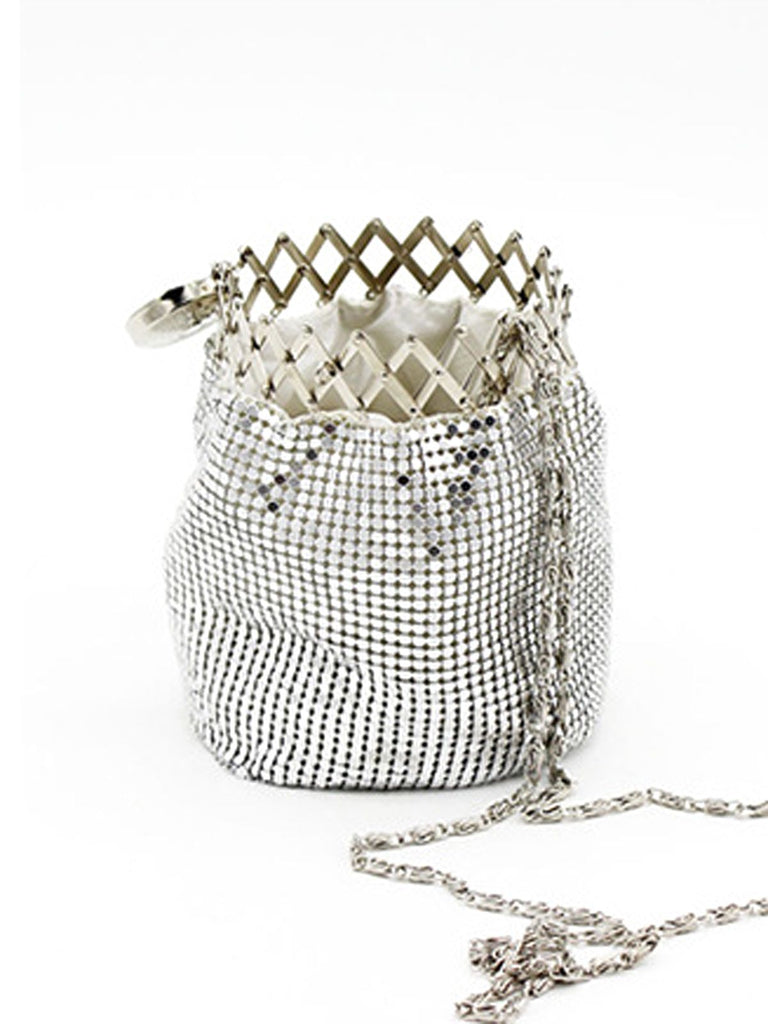 Shoulder Bucket-shaped Chain Bag