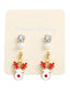 Christmas Reindeer Earrings