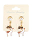 Christmas Reindeer Pearl Earrings
