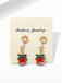 Christmas Bell Pearl Earrings