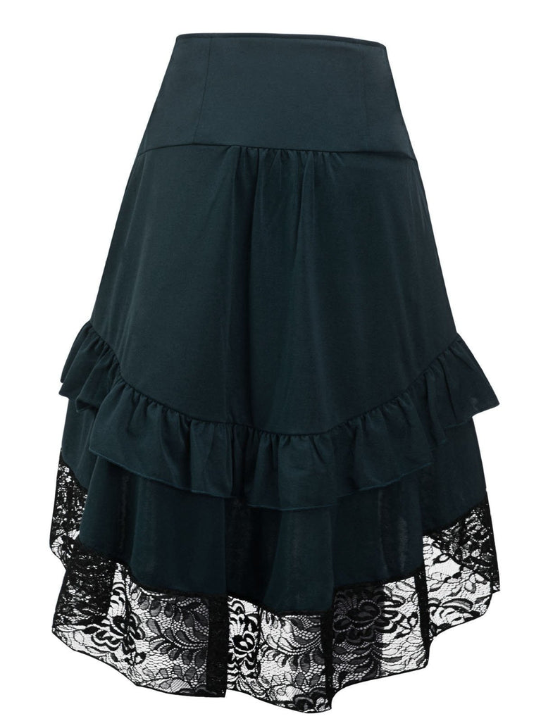 Halloween Steampunk Gothic Skirt