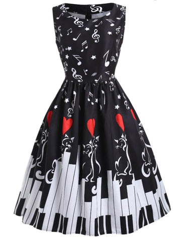 1950s Dress Retro Stage Chic Vintage Dresses And