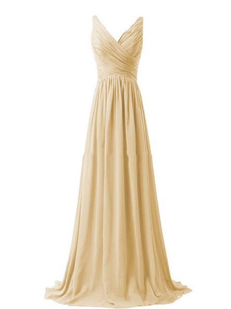 Vintage Formal Bridesmaid Maxi Dress