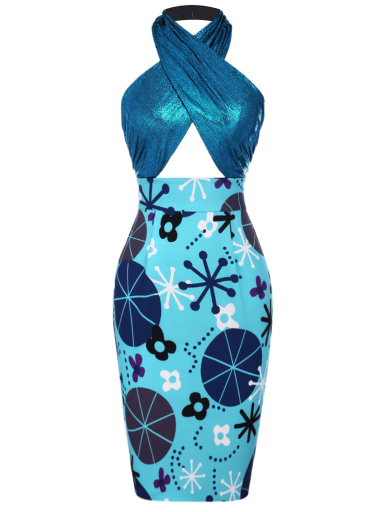 [Lori's Design]1960s Dress Promoting Autism Awareness