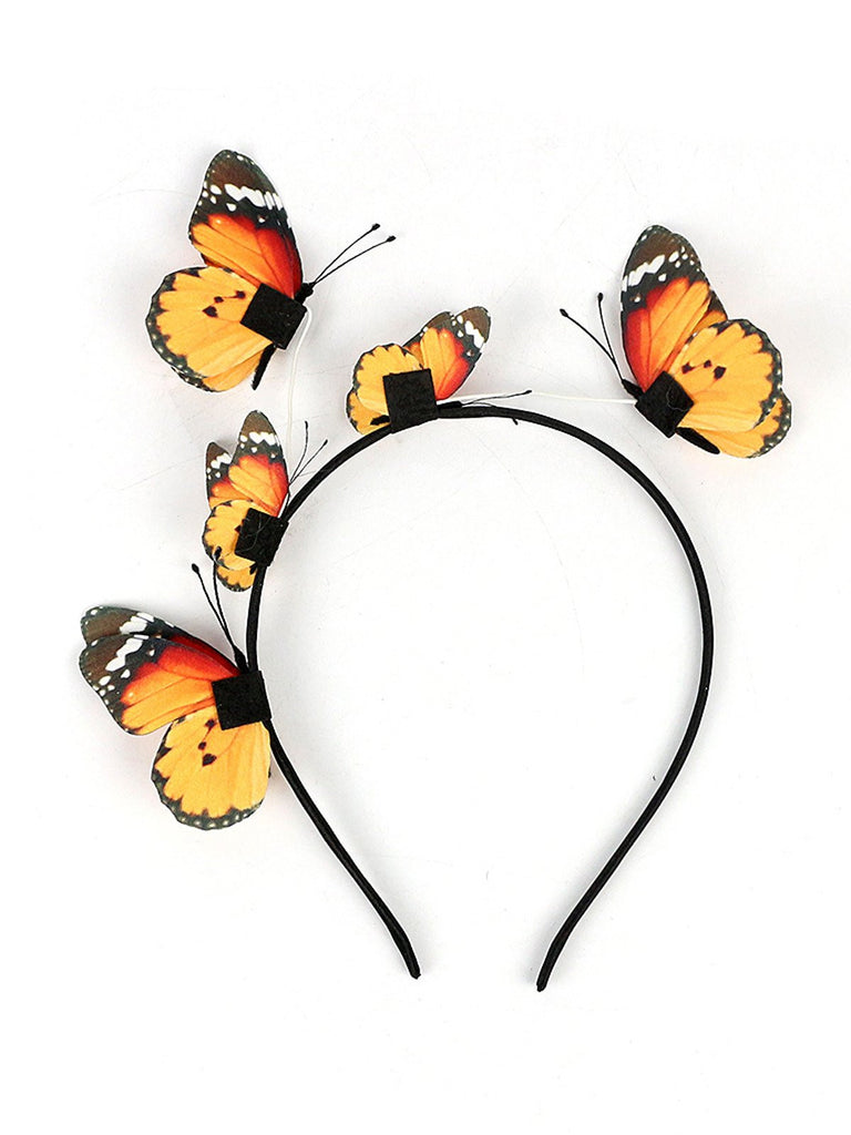 Vintage Butterfly Headband Costume