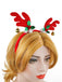 Christmas Deer Horn and Bell Headband