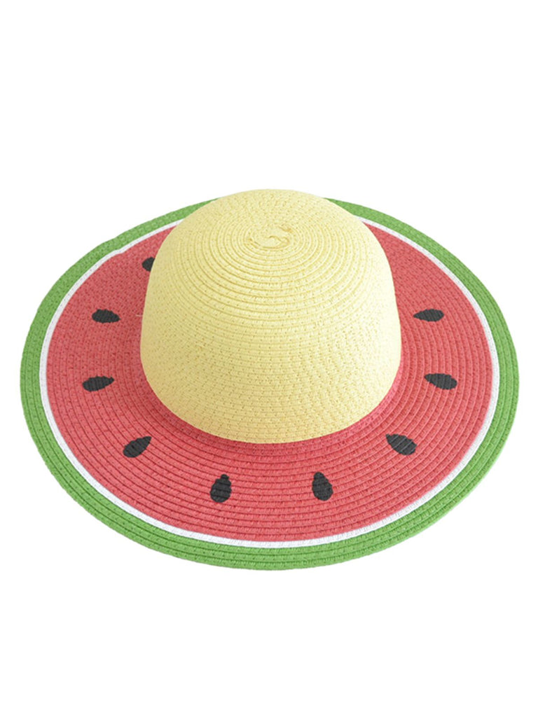 Red Watermelon-Like Sun Hat