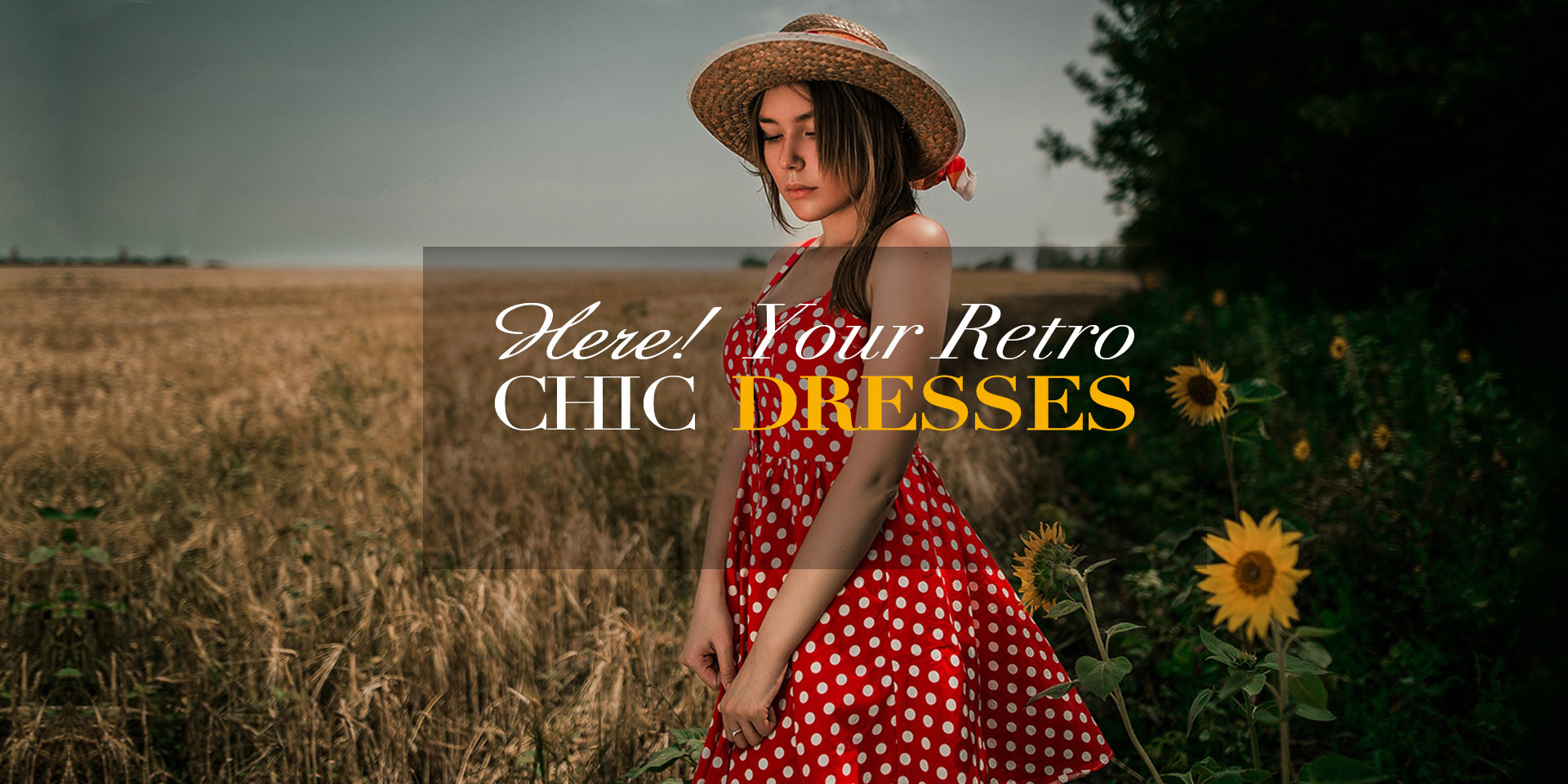 Retro Stage Chic Vintage Dresses And Accessories