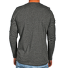 Grey Men's Long Sleeve Lightweight Shirt - Australian made - aussie essence - Castaway Charcoal
