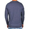 Navy Blue Men's Long Sleeve Lightweight Shirt - Aussie made - aussie essence - Castaway Navy
