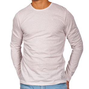Pink Men's Long Sleeve Lightweight Shirt - Australian made - aussie essence - Castaway Pink