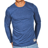 Royal Blue Men's Long Sleeve Lightweight Shirt - Australian made - aussie essence - Castaway Royal Blue