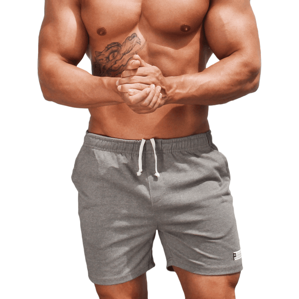 Grey Men's Shorts - Activewear - Everyday - Australian Made - aussie essence - Docks Kembla