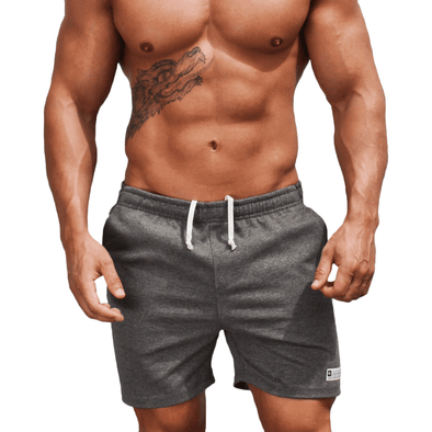 Grey Men's Shorts - Activewear - Everyday - Australian Made - aussie essence - Docks Sorell