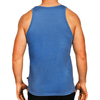 Blue Men's Singlet Australian Made