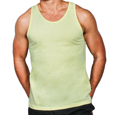 Lemon Men's Singlet Australian Made