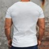 White Graphic Print Men's T-Shirt Australian Made