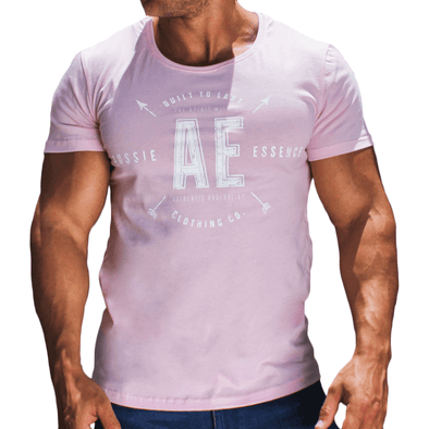 Pink Graphic Print Men's T-Shirt Australian Made