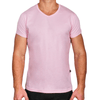 Pink Men's V-Neck T-Shirt Made in Australia
