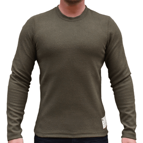 Oliver Green Men's Sweater Jumper - Australian Made - aussie essence - Cloud Tornado