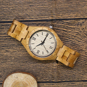 WOODEN WATCH ALW03