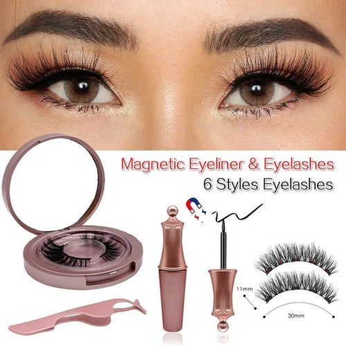 Magnetic Eyeliner & Eyelashes