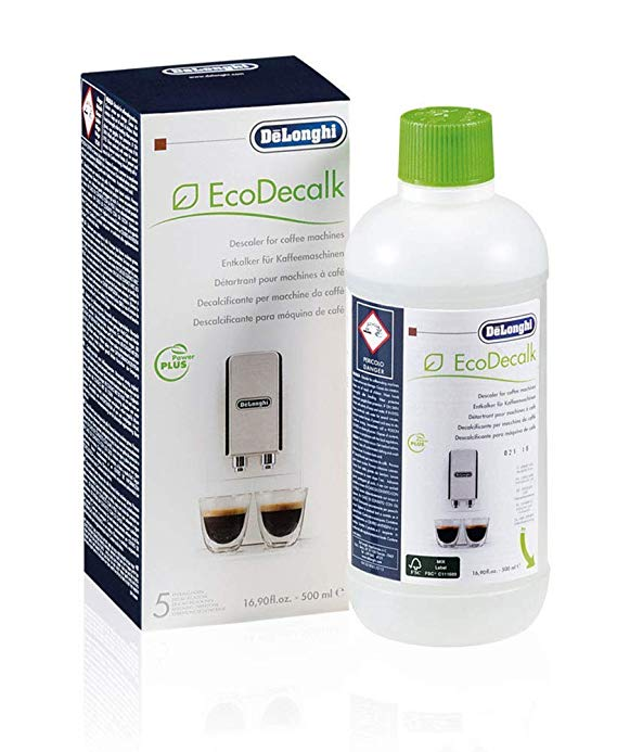 De'Longhi Natural Descaler For Coffee Machines, White, 500 ml Online Shopping Store