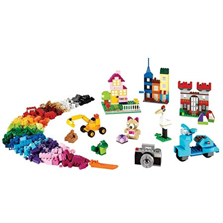 LEGO Classic Large Creative Brick Box 10698 Build Your Own Creative Toys, Kids Building Kit (790 Pieces) Online Shopping Store