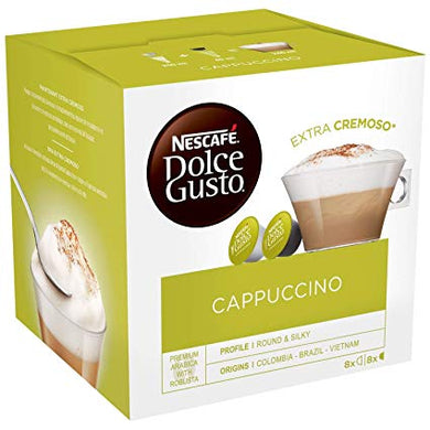 Nescafe Dolce Gusto Cappuccino Extra Cremoso 1 Pack (16 Capsules) Online Shopping Store